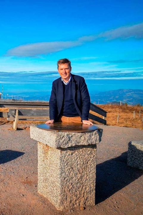 Bürgermeister Johannes Albrecht ist au...e Touristen längst wieder im Tal sind.  | Foto: Kathrin Blum