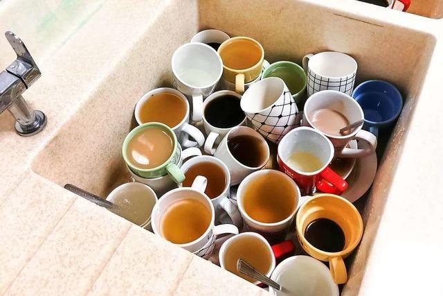 Schwätzchen vor Geschirrbergen: Geschichten aus der Kaffeeküche
