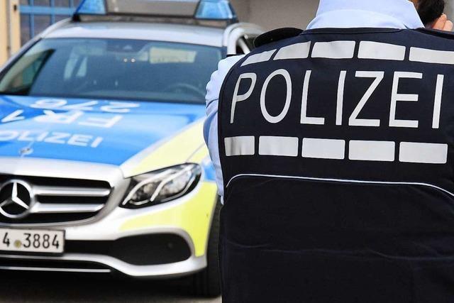 Polizei nimmt aggressiven Mann in Lörrach in Gewahrsam