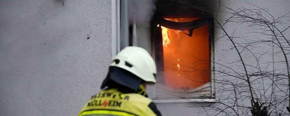 Polizei ermittelt nach Großbrand in Müllheim