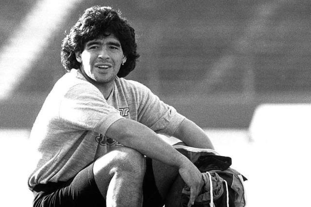 Als Diego Maradona im UEFA-Pokal gegen Wettingen spielte