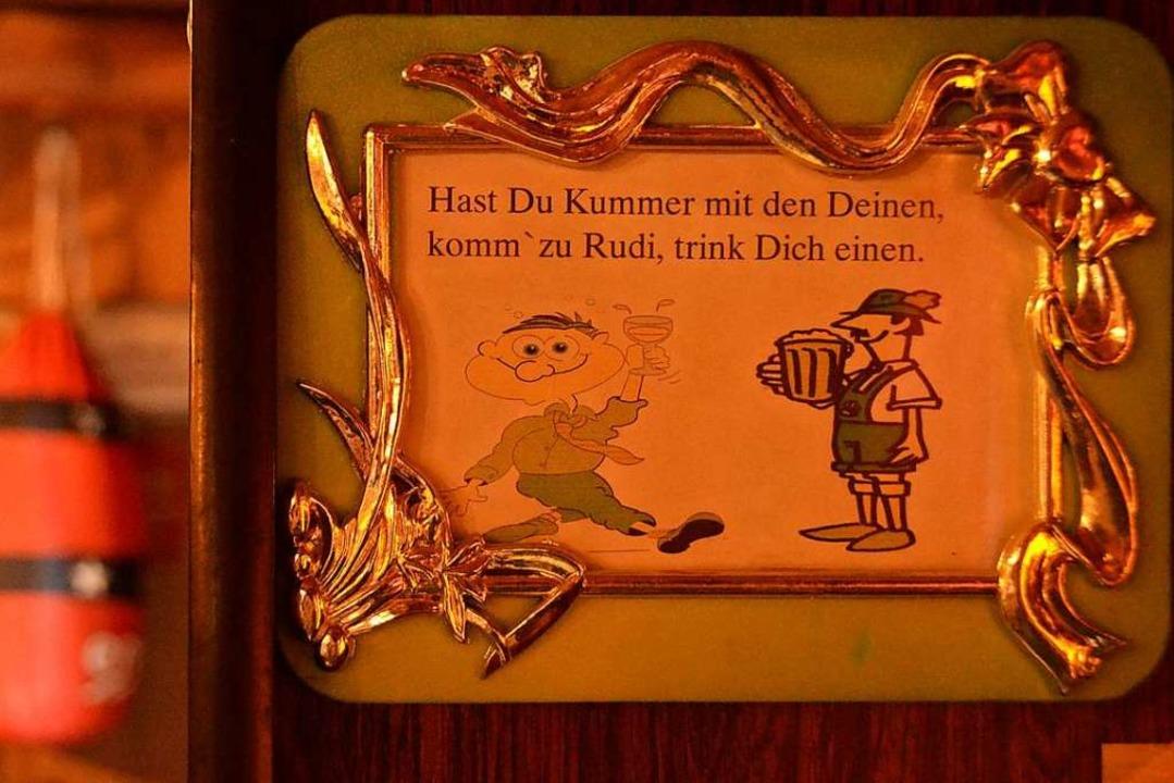 "Rudi Kuhni öffnete seine Mösle-Stube a...e nicht wissen wohin"", sagte er.  | Foto: Fabian Jatzlau"