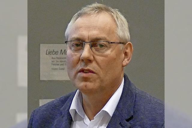 Peter Schalk wird Manager für Klimaschutz