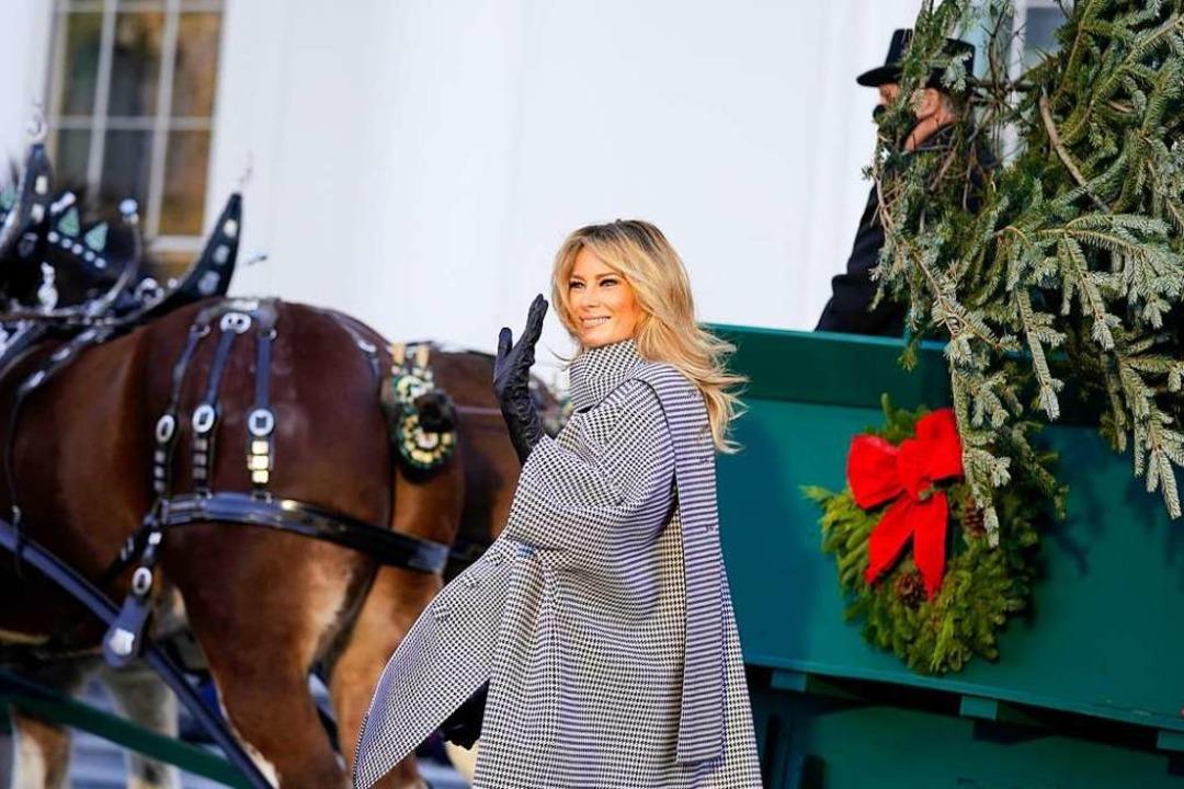 "First Lady Melania Trump habe ""j...er Pressemitteilung des Weißen Hauses.  | Foto: Andrew Harnik (dpa)"