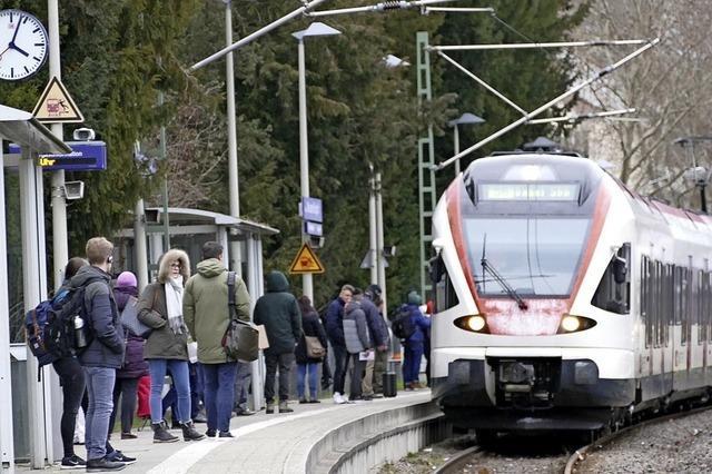 Mehr S-Bahnfahrer im Kreis
