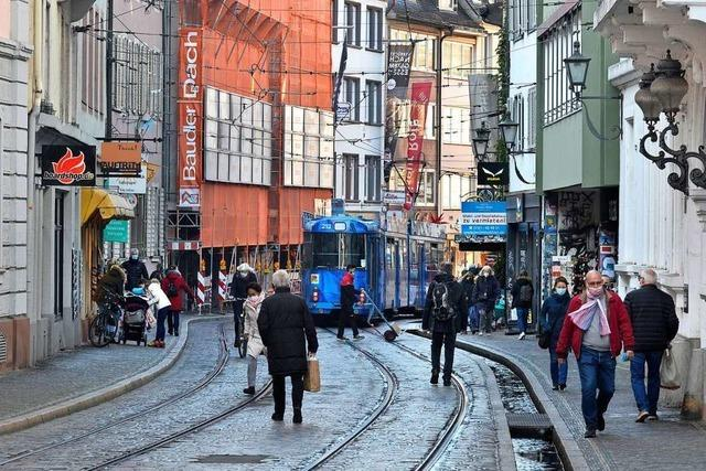 Schlechtes Timing für die Schienensanierung in der Freiburger Salzstraße