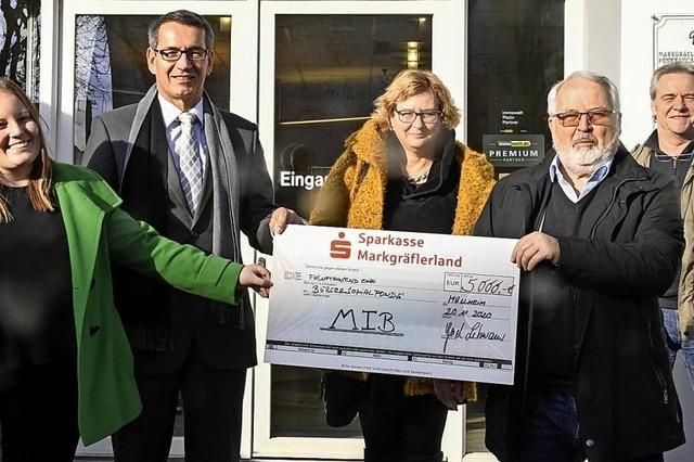 5000 Euro zugunsten von bedürftigen Menschen