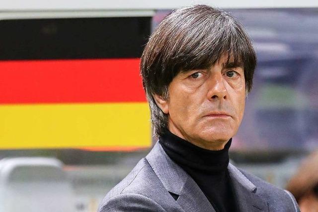 Bundestrainer Löw sollte nicht so tun, als ob er über den Dingen steht
