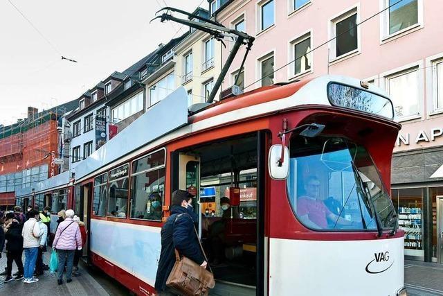 Die Freiburger VAG gibt alte Straßenbahnen ab – nur in gute Hände