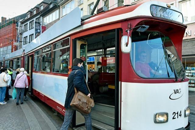 Die Freiburger VAG gibt alte Straßenbahnen ab - in gute Hände
