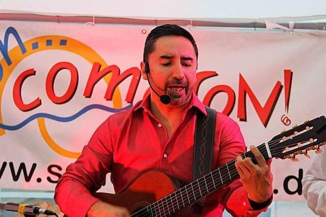 Ricardo Mera ist als Latino-Koryphäe im Dreiland bekannt