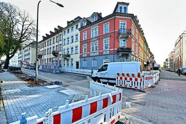 Die Situation an der Engelbergerstraße in Freiburg wird nun sicherer
