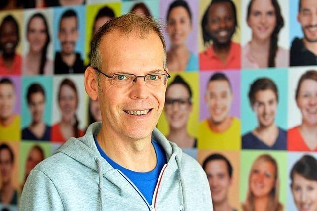 Robert Sandermann von der Aids-Hilfe: