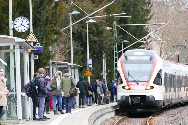 Immer mehr Menschen im Kreis Lörrach fahren mit der Bahn