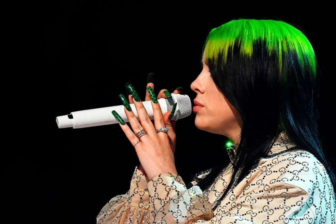 Billie Eilish  | Foto: ROBYN BECK (AFP)