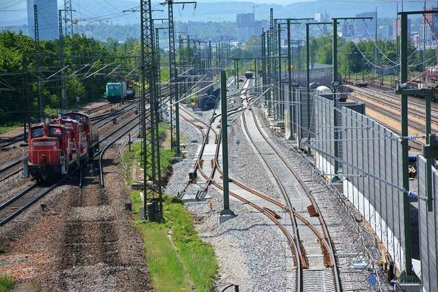 Bahn verpflichtet sich zu noch mehr Lärmschutz für Weil-Otterbach