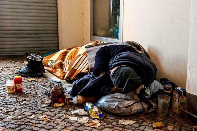 Corona-Bußgelder machen Obdachlosen das Leben noch schwerer