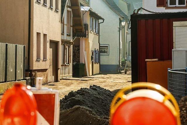 Die Sanierung von Kanälen in Ettenheim zieht sich in die Länge