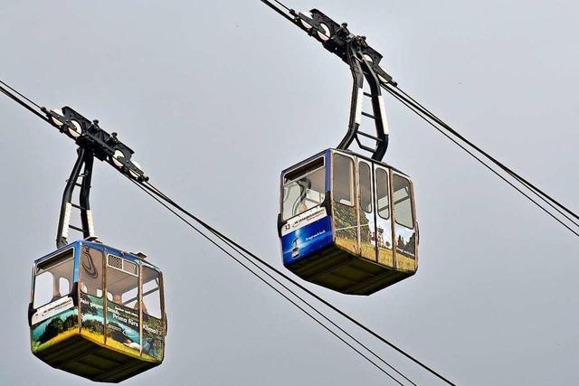 Schauinslandbahn darf wieder fahren – mit offenen Fenstern und bis zu sieben Menschen