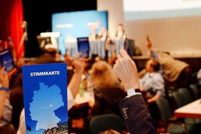 Südwest-AfD sagt Parteitag in Göppingen ab