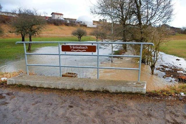 In der Hochwasser-Gefahrenzone