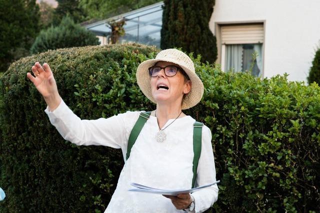 Dorothea Scherle recherchierte 16 Stunden täglich jüdische Geschichte