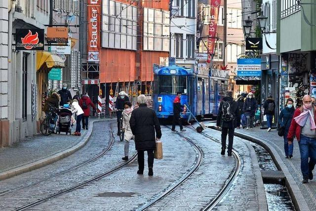 Gleise in der Innenstadt sollen im Sommer erneuert werden – Einzelhandel sauer