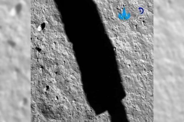 Chang'e 5 ist auf dem Mond gelandet