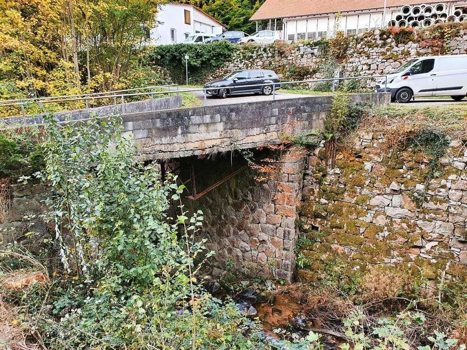 Die Brücke wurde   im Jahr 1911 errich...icht in Frage, sondern nur ein Neubau.  | Foto: Himmelsbach + Scheurer