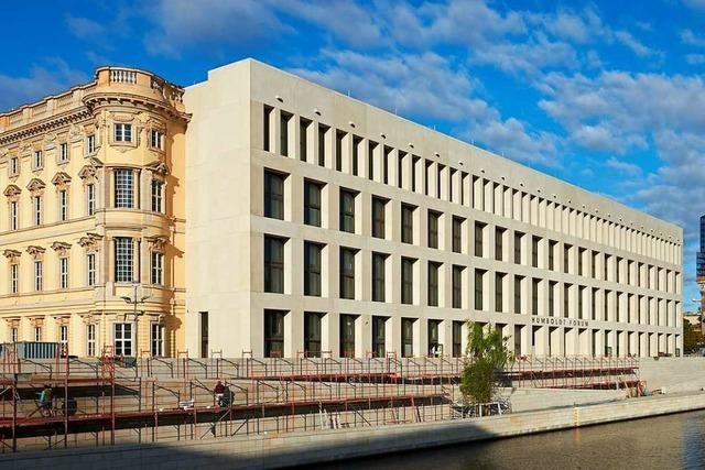Das Berliner Schloss ist kein architektonisches Juwel