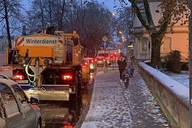 Winter in Offenburg und auf der Höhe
