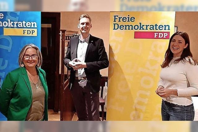 Christian Lindner zum Wahlkampf in die Ortenau