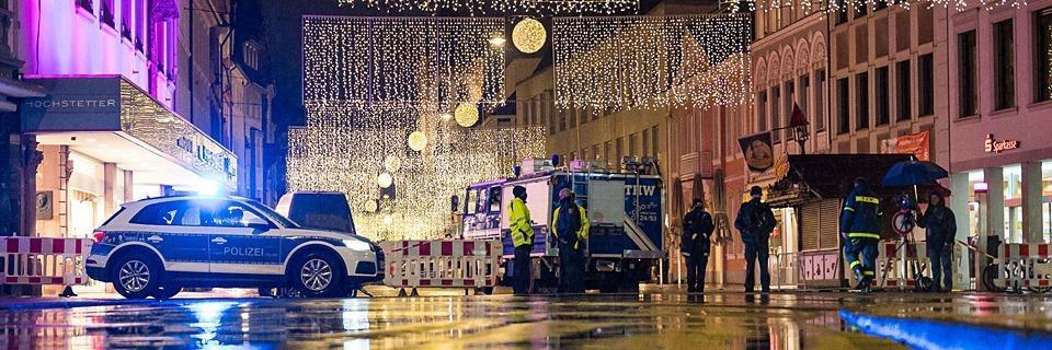 Amokfahrt in Trier: Fünf Menschen getötet, etliche verletzt