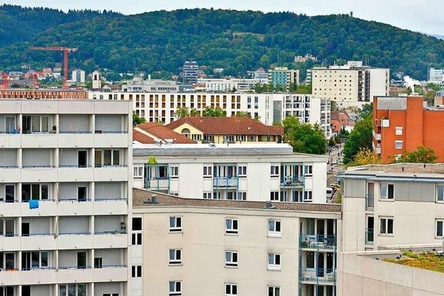 Freiburg will das Wohnen bezahlbarer machen und entwirft einen Baukasten für die Politik