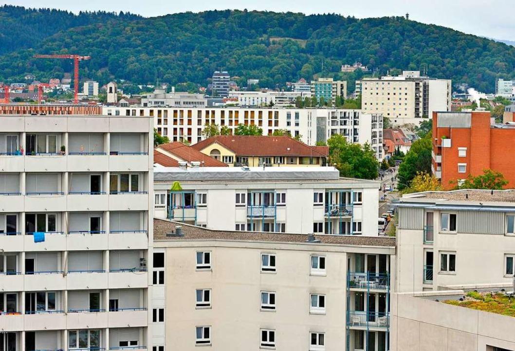 Der Bedarf an bezahlbarem Wohnraum in ...g ist enorm, das Angebot jedoch klein.  | Foto: Michael Bamberger