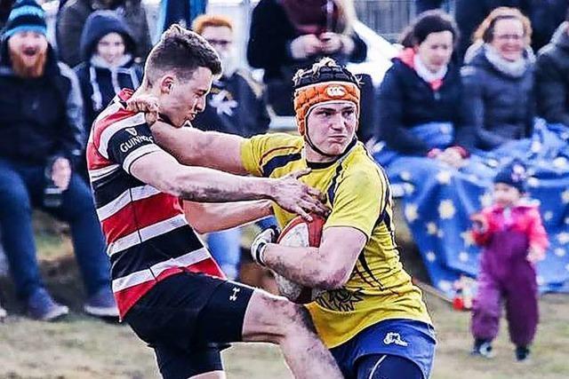 Der Wehrer Joshua Leutenecker hat sich in der Rugby-Bundesliga etabliert