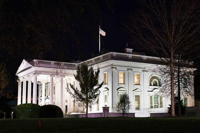 US-Justiz ermittelt zu möglichem Schmiergeldskandal im Weißen Haus