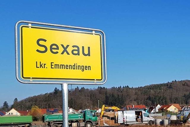 Sexauer Bürgermeister: