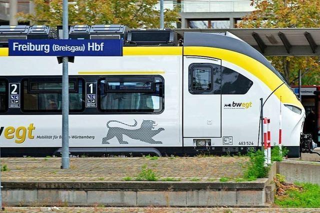 Oberleitungsstörung am Freiburger Hauptbahnhof sorgt für Zugausfälle