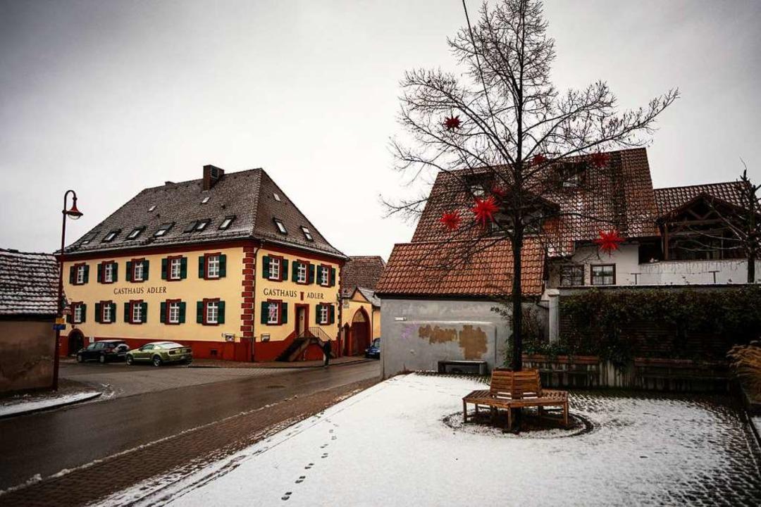 Die  Gottenheimer Ortsmitte könnte att...deentwicklungskonzept beteiligt haben.  | Foto: Hubert Gemmert