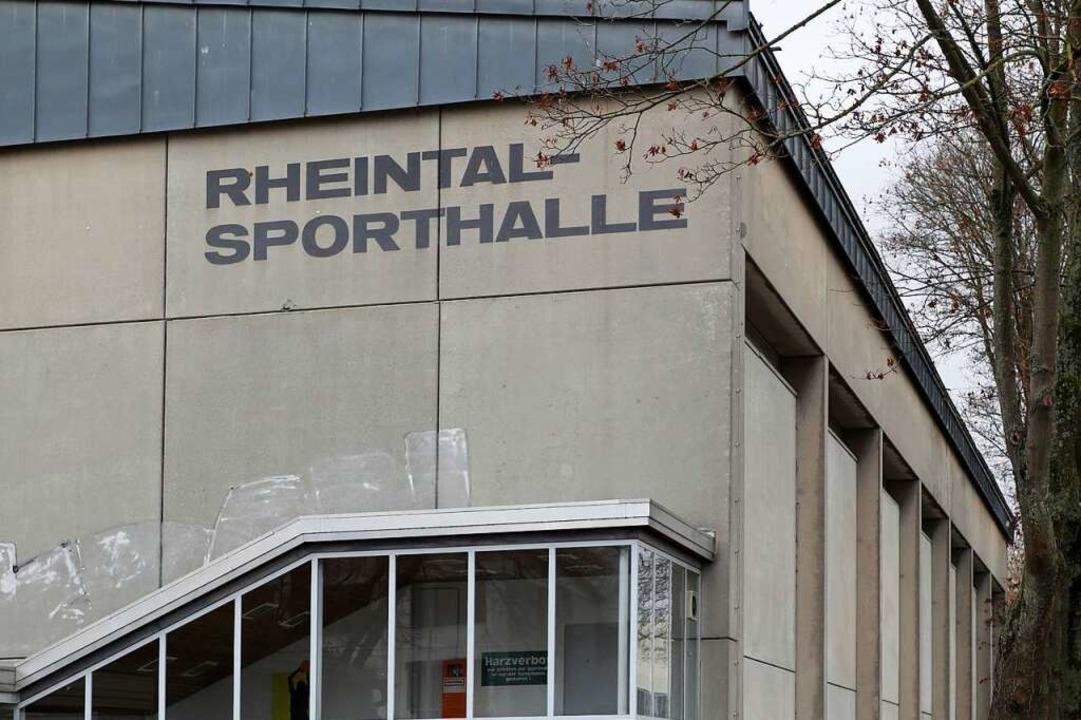 Die Rheintalsporthalle in Lahr  | Foto: Christoph Breithaupt