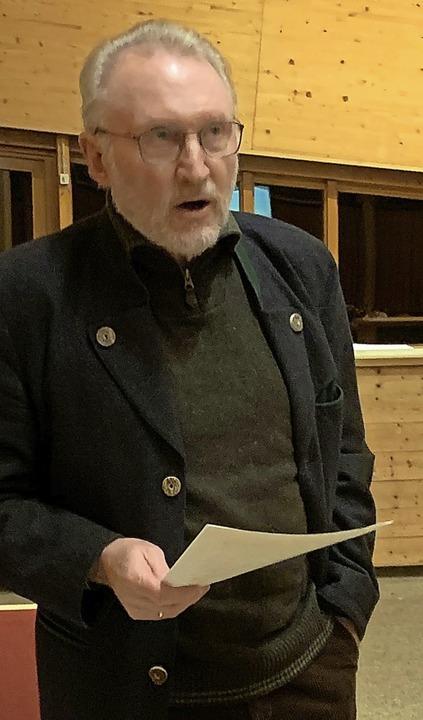 Werner Rautenberg, ehemaliger Bürgerme...itzung eine Entscheidung des Gremiums.  | Foto: Stefan Pichler