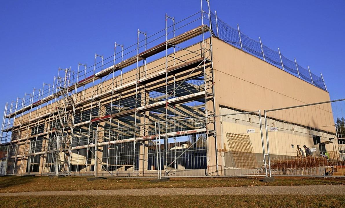 Die Schluchseehalle ist 2021 die größte Investition der Seegemeinde.  | Foto: Eva Korinth