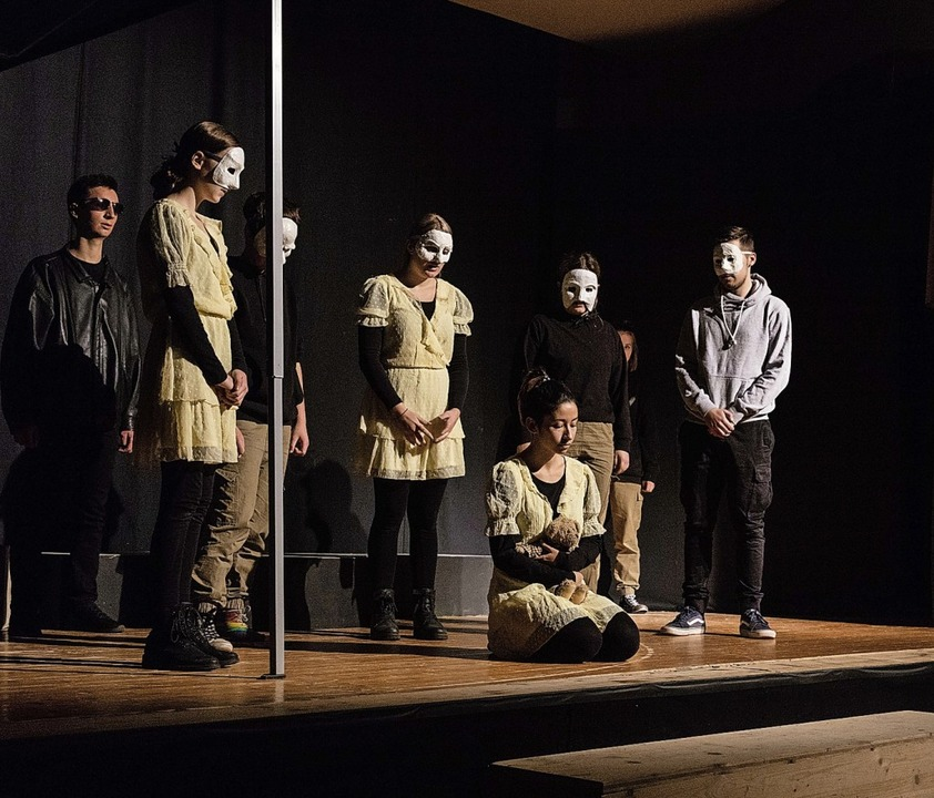"Einmal konnte das Stück ""Antigon...chluss beim Freien Theater Waldkirch.     Foto: Gabriele Zahn"