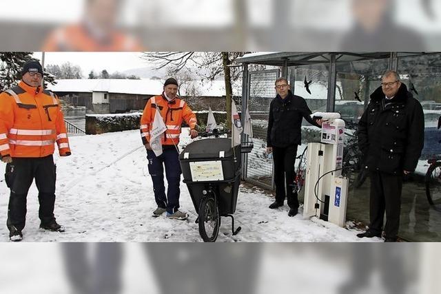 Bad Säckingen fördert Fahrradverkehr