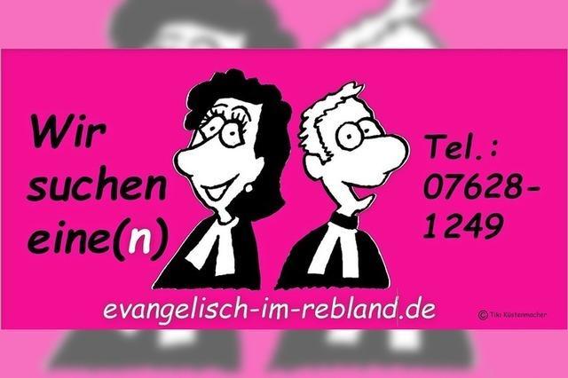Pfarrer/in gesucht!