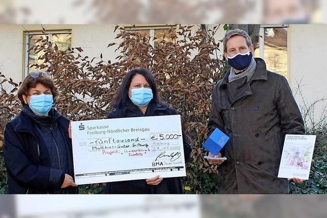 Junge Patienten profitieren von Spende