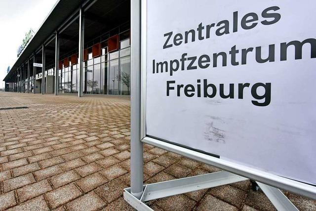 Das Freiburger Corona-Impfzentrum nimmt Form an