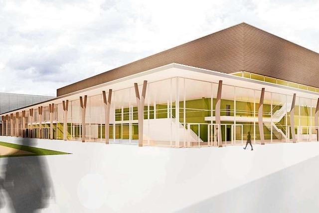 Neue Halle der Messe Offenburg trägt den Namen