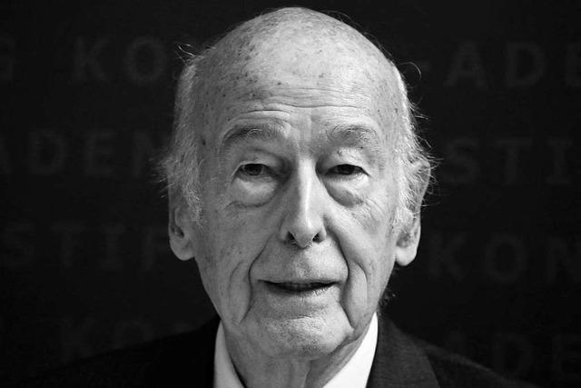 Französischer Altpräsident Giscard d'Estaing 94-jährig gestorben